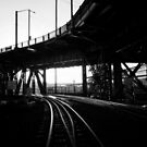 Portland Train Tracks. Collaboration with Sabrina Geerdes. by ShellyKay