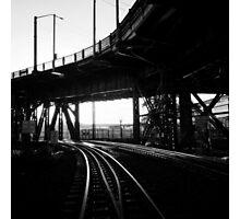 Portland Train Tracks. Collaboration with Sabrina Geerdes. Photographic Print