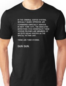 Law & Order: Special Victims Unit Unisex T-Shirt
