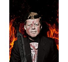 The Punisher + JFK Mash Up Photographic Print