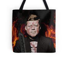 The Punisher + JFK Mash Up Tote Bag