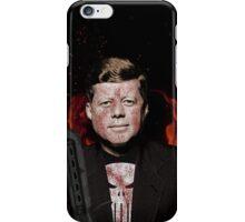 The Punisher + JFK Mash Up iPhone Case/Skin