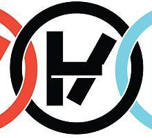 interlocking logos by Tucker Stosic