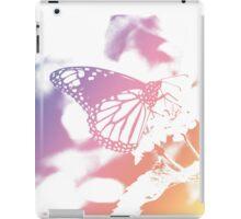 Monarch Butterfly - Pastel Gradient iPad Case/Skin