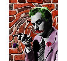 The Joker + Vincent Price Mash Up Photographic Print