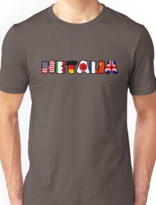 WORLD HETALIA FLAGS Unisex T-Shirt