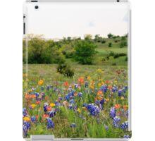 Bluebonnets & Wildflowers iPad Case iPad Case/Skin