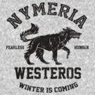 Team Nymeria (Black) by Digital Phoenix Design