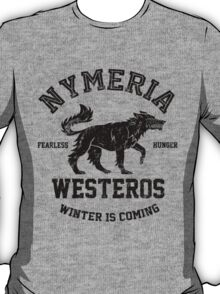 Team Nymeria (Black) T-Shirt