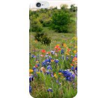 Bluebonnets & Wildflowers Phone Case iPhone Case/Skin