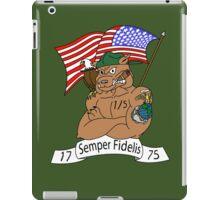 1st Battalion 5th Marines iPad Case/Skin