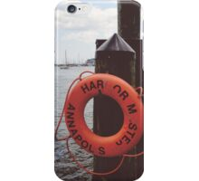 Annapolis Harbor iPhone Case/Skin