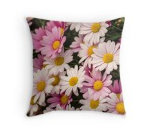 50 shades of pink Throw Pillow