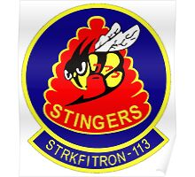 VFA-113 Stingers Patch Poster