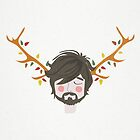 The Man With The Antlers by KarinBijlsma