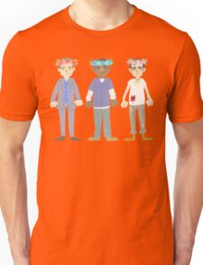 poorly matched friends (flowercrown version) Unisex T-Shirt