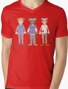 poorly matched friends (flowercrown version) Mens V-Neck T-Shirt