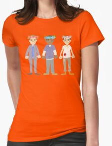 poorly matched friends (flowercrown version) Womens Fitted T-Shirt