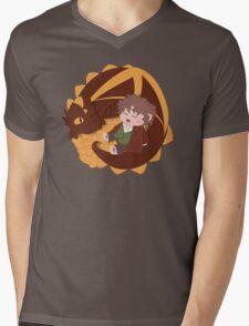 Smaug & Bilbo Mens V-Neck T-Shirt
