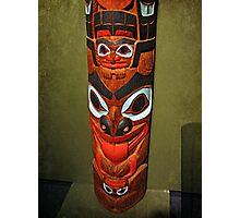 North American Totem Pole Photographic Print