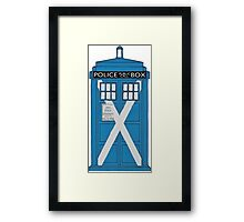 Scottish TARDIS. Framed Print