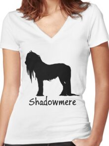 Shadowmere Women's Fitted V-Neck T-Shirt