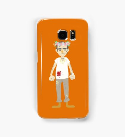Trevor flower crown Samsung Galaxy Case/Skin