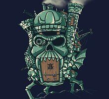 Grayskull Moving Castle by DiJay