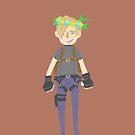 Leon flower crown by onelasttrick