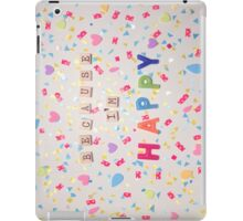 Because I'm Happy iPad Case/Skin