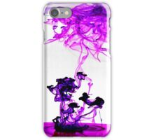 Purple bomb iPhone Case/Skin