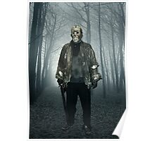 Jason  From Friday the 13th Cosplay Poster