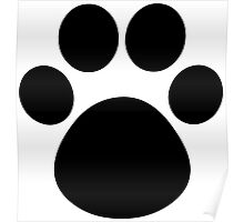 Cat Paw Poster