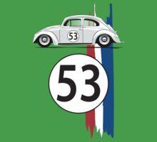 VW Beetle Herbie One Piece - Short Sleeve