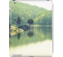 Tree Island- Green iPad Case/Skin