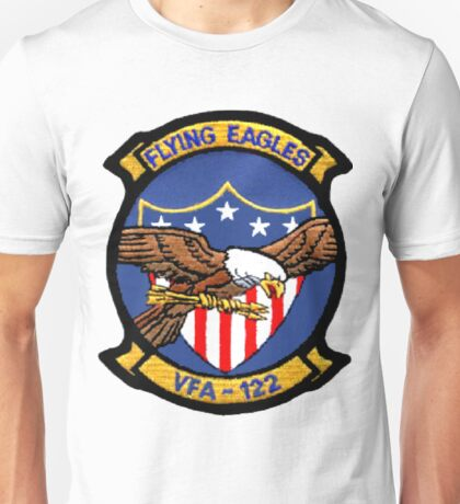 VFA-122 Flying Eagles Patch Unisex T-Shirt