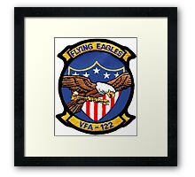 VFA-122 Flying Eagles Patch Framed Print