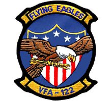 VFA-122 Flying Eagles Patch Photographic Print