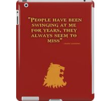 Game of Thrones - House Lannister - Jamie Lannister iPad Case/Skin