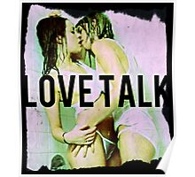 Love Talk album poster Poster
