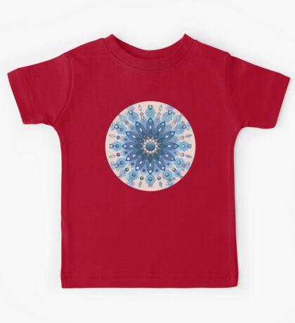 Frozen Mandala Flower Kids Tee