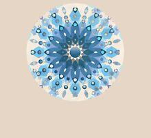 Frozen Mandala Flower Womens Fitted T-Shirt