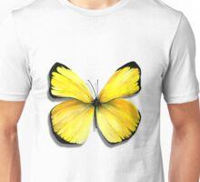 yellow butterfly Unisex T-Shirt