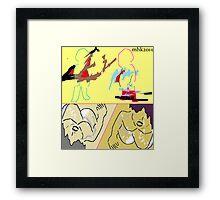 rubber ducky 3 Framed Print