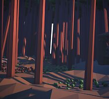 Low-Poly Forest  by baghera