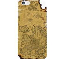 Old Maps iPhone Case/Skin