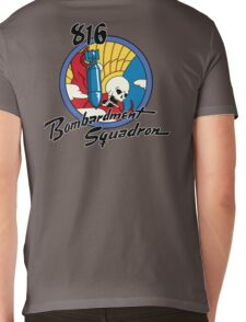 816th Bomb Squadron Insignia Mens V-Neck T-Shirt