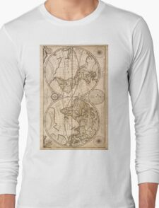 Old Maps Long Sleeve T-Shirt