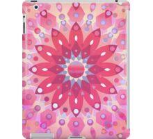Tropical Pink Floral Mandala iPad Case/Skin