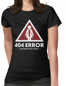 404 error Womens Fitted T-Shirt